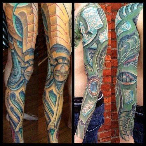 64 best images about bio organic mechanical tattoos on for Organic tattoo ink