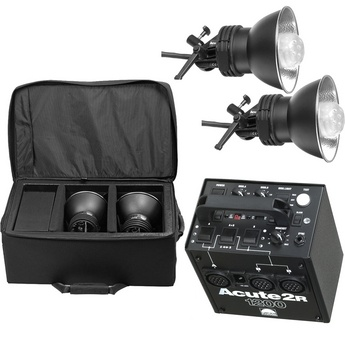 "The PROFOTO Acute 1200R Kit is the 1st lighting kit I ever purchased. The pack comes with a built in POCKETWIZARD Brand receiver (see small antenna on pack). With the kit came 2 1200ws lights, a 2x3' softbox, barn doors, a POCKETWIZARD Transmitter, a backup synchronization- or ""sync"" cord in a TENBA Brand bag. While at CRC Sacramento, (ranked top 30 in the Nation) I was able to get a ""super- sweet Student Discount"" through MAMIYA's discount program (for 30 programs across the U.S.) $2,250…"