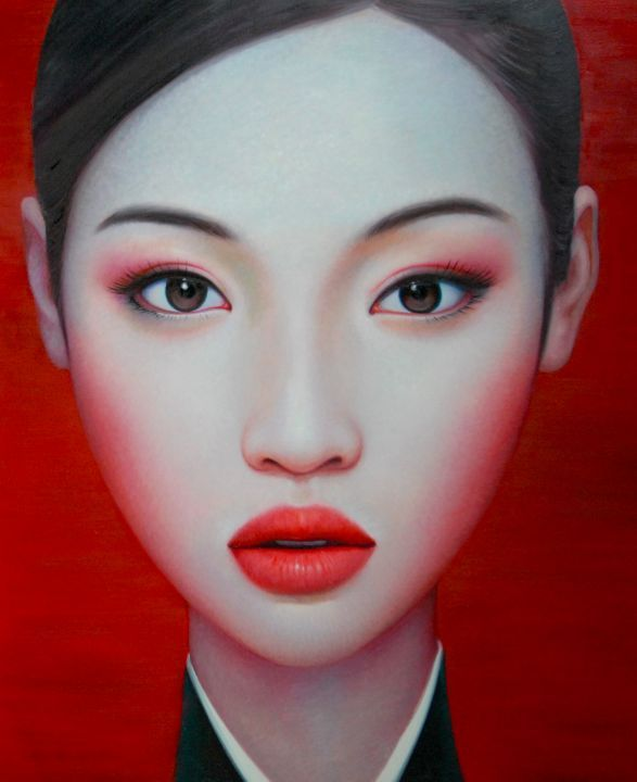 Zhang Xiangming, Distant Memory, 170 x 200 cm, Oil on Canvas