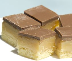My grabs recipe for Millionaires Shortbread.