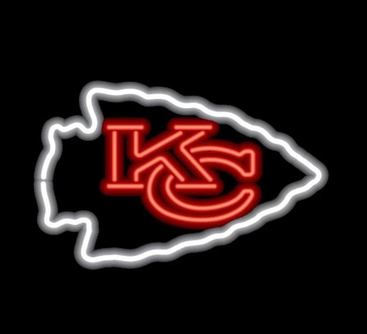 Patrick Mahomes Chiefs Iphone Wallpaper: Kansas City Chiefs Neon Sign