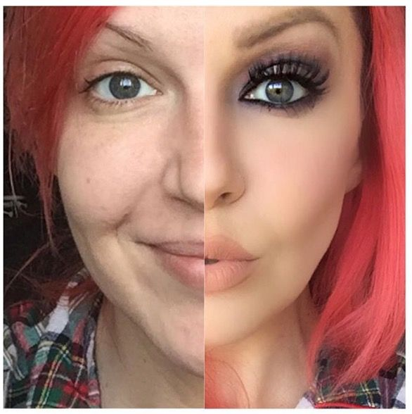 Kiss Without Makeup: Before And After • The Power Of Makeup