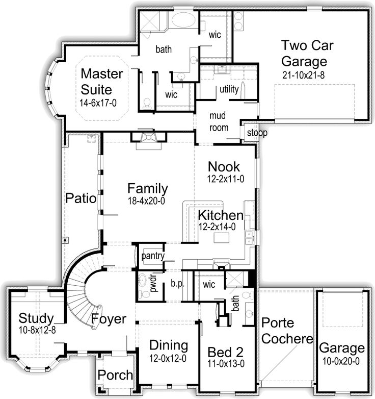 182 best home floorplans images on pinterest house floor for Korel home designs