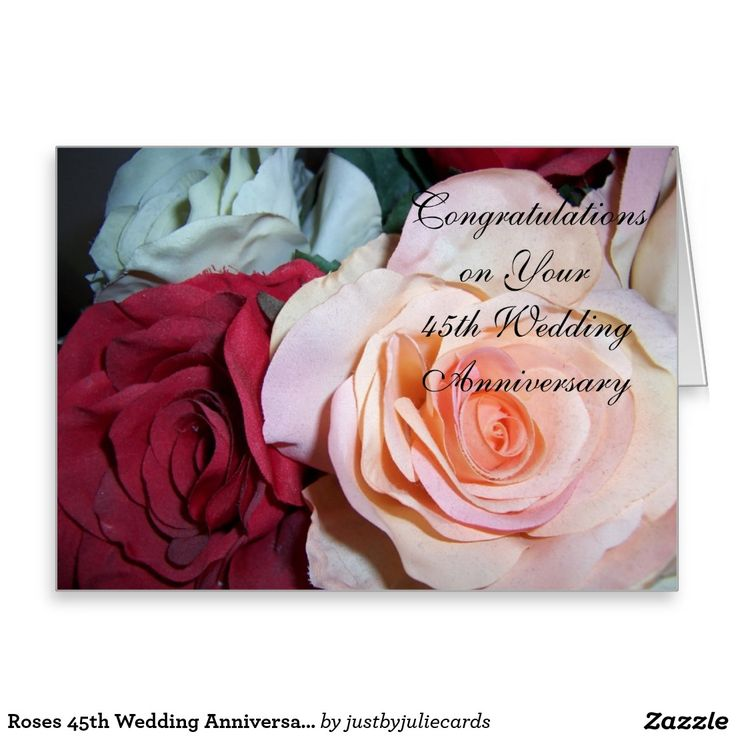 wedding anniversary greeting cardhusband%0A Shop Roses Wedding Anniversary Card created by justbyjuliecards