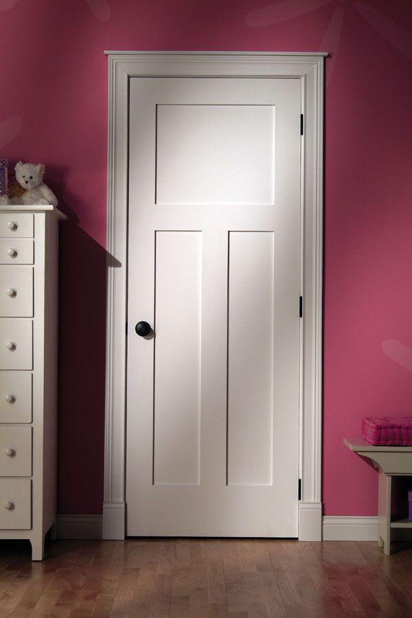 Primed Flat 3t Panel Door 4103t Doors Pinterest