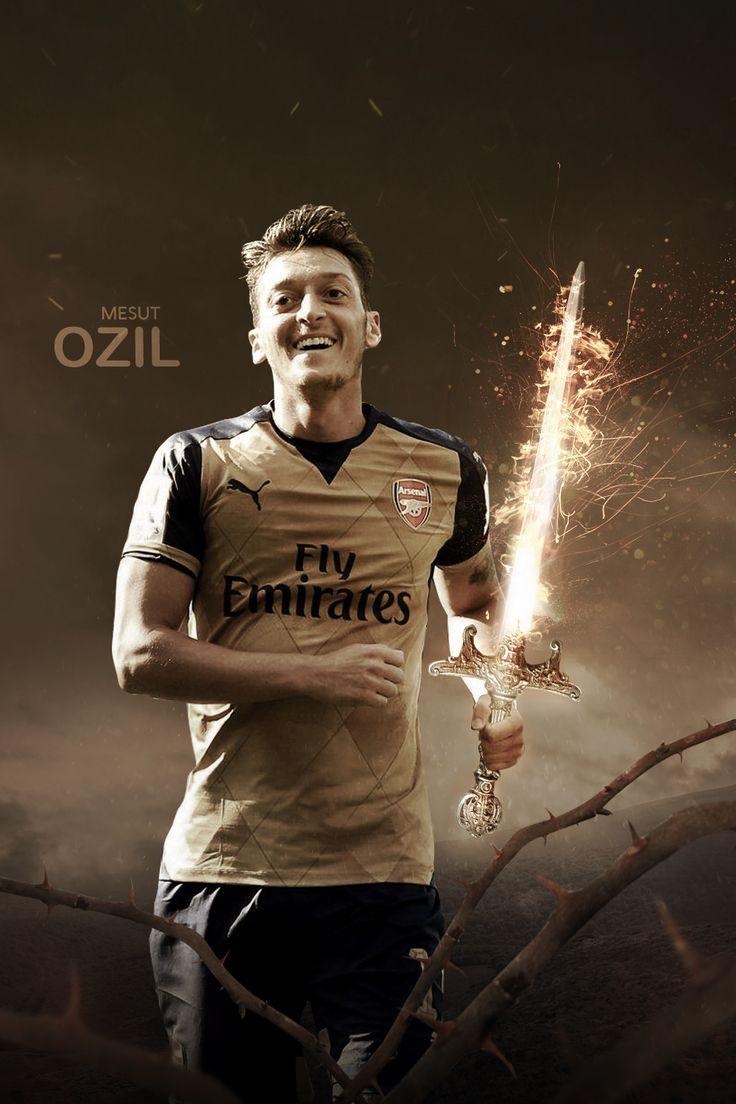 Mesut Ozil  PC : http://rakagfx.deviantart.com/art/Mesut-Ozil-579795710