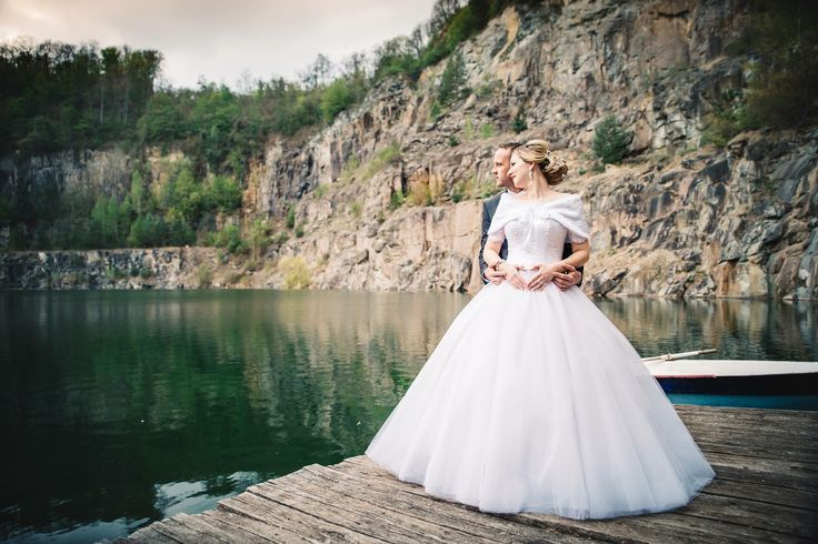 Wedding photo session near the water always looks romantic and gentle   If you have the opportunity to take a photo shoot near the sea, river or lake - it's mean that you already have beautiful wedding photos   Let this little trip symbolize the beginning of your family journey through the wave of love!   P.S. Bride's outfit by Tina Valerdi.