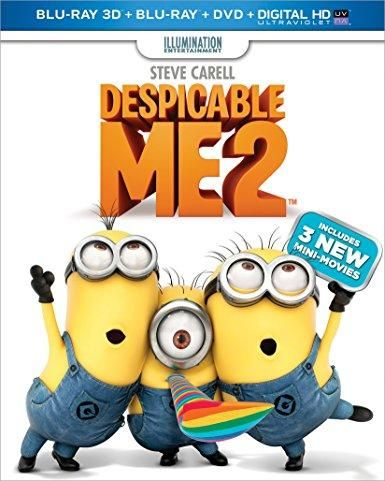 Steve Carell & Benjamin Bratt & Chris Renaud & Pierre Coffin -Despicable Me 2
