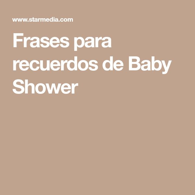 The 25+ Best Frases De Baby Shower Ideas On Pinterest | Ducha De Sprinkles,  Ducha De Sprinkles De Bebé And Uñas Con Sprinkles