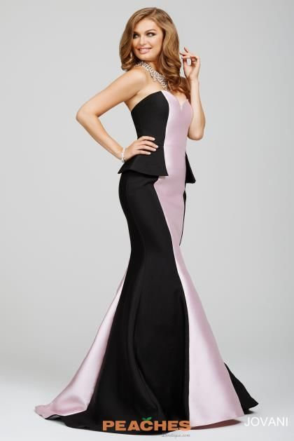 Jovani Taffeta Mermaid Dress 23492