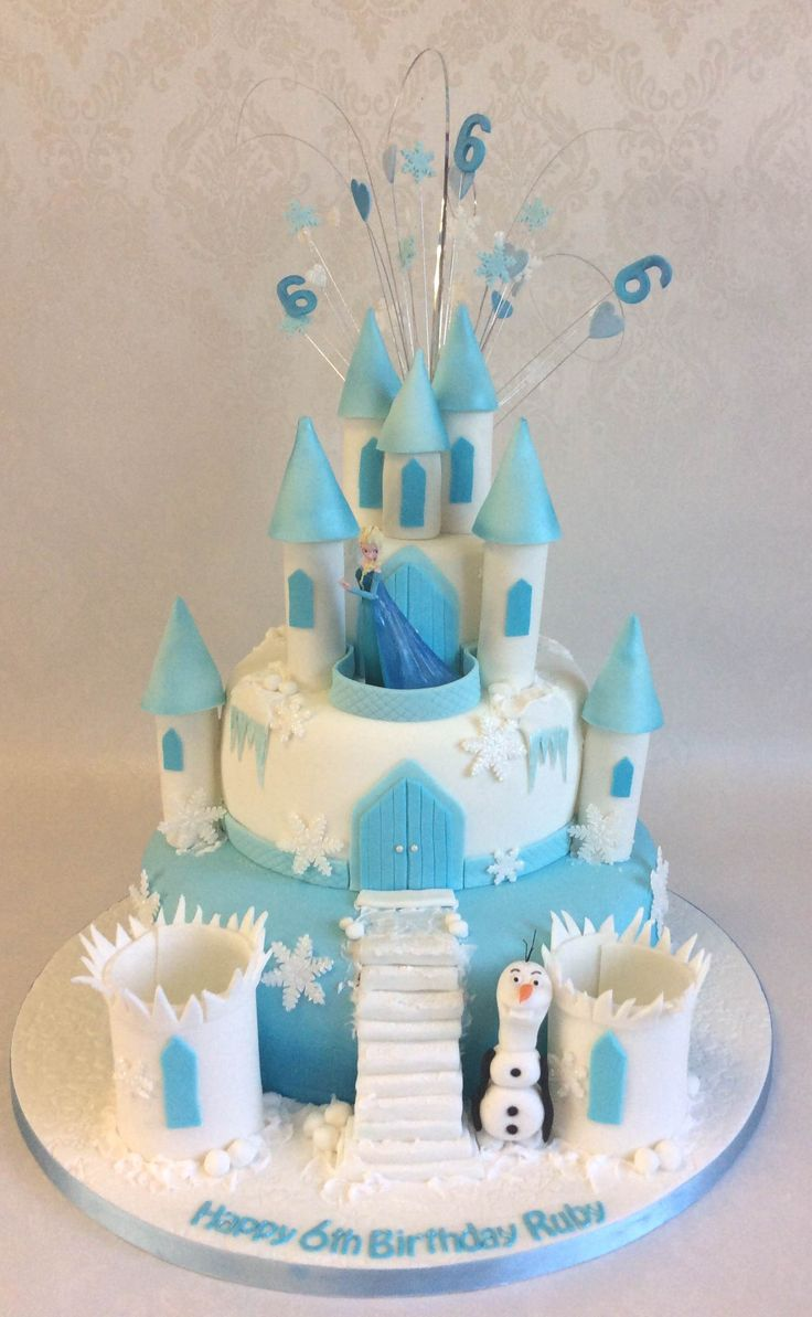 45 best Frozen images on Pinterest Frozen Olaf and Theme cakes