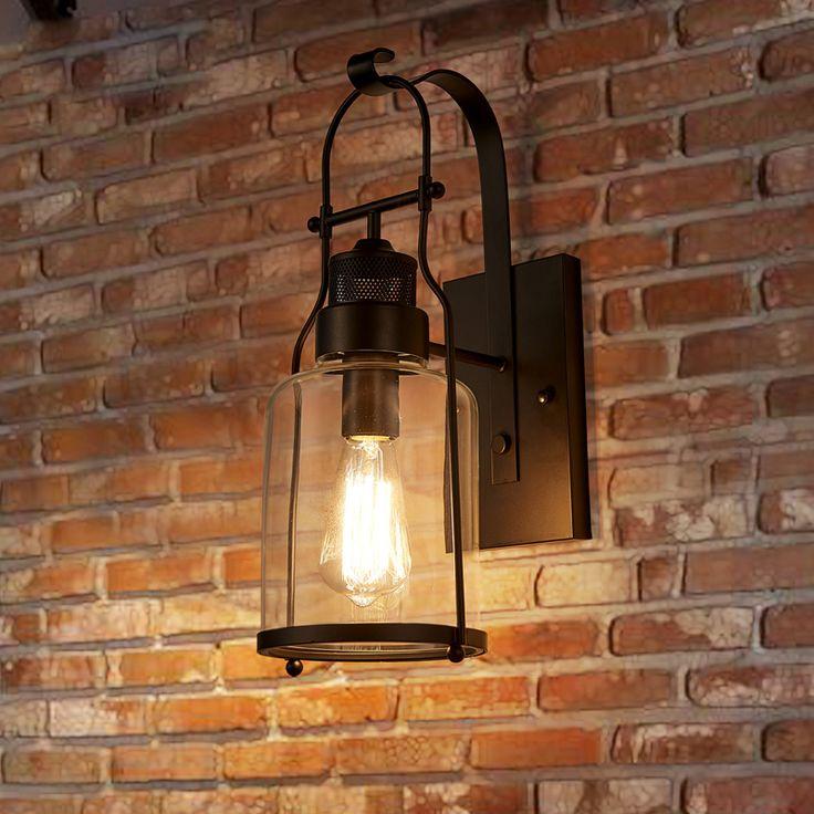 Applique murale vintage industriel lampe pour salon salle à manger cuisine café pas cher chez homelavafr