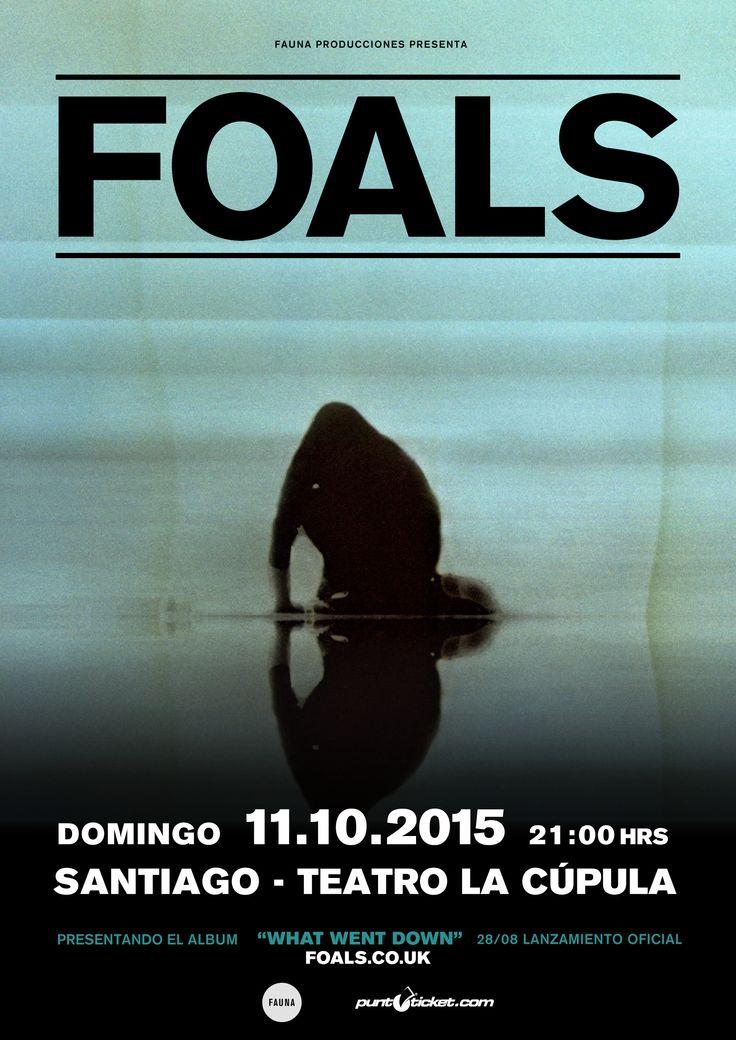 Foals - 11 de octubre - Teatro La Cúpula