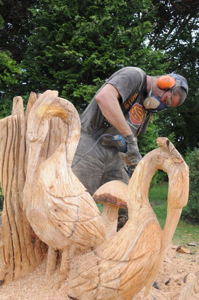 289 besten chainsaw carving bilder auf pinterest | baum-schnitzen