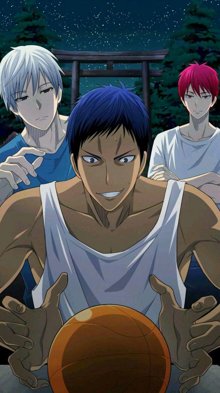 「Kuroko no basket Team Seirin, Team Kaijo, Team Shutoku