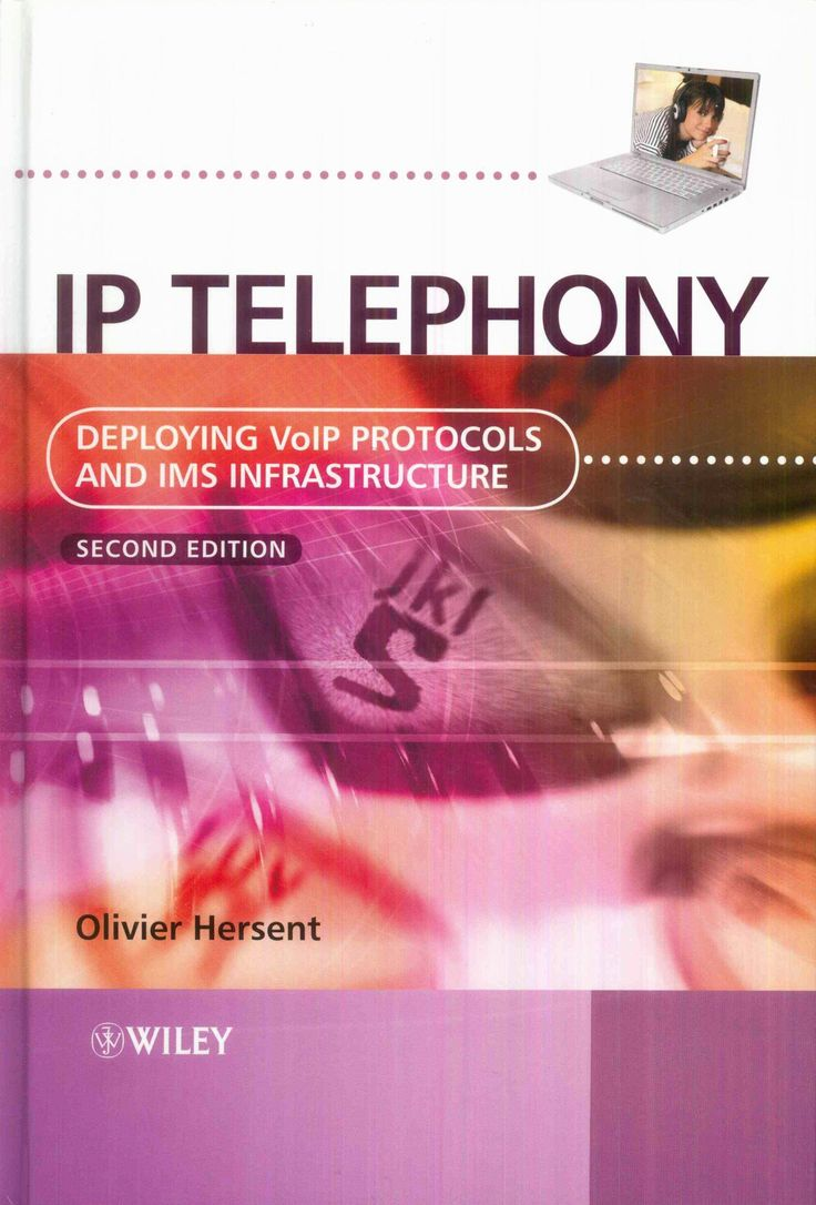 This book provides a comprehensive and practical overview of the technology behind Internet Telephomy (IP), providing essential information to network engineers, desginers, and manageres who need to understand the protocols. Futhermore, the autor explores the issues involved in the migration of existing telephony infraestructur to an IP –based real time communication service. http://eu.wiley.com/WileyCDA/WileyTitle/productCd-047066584X.html