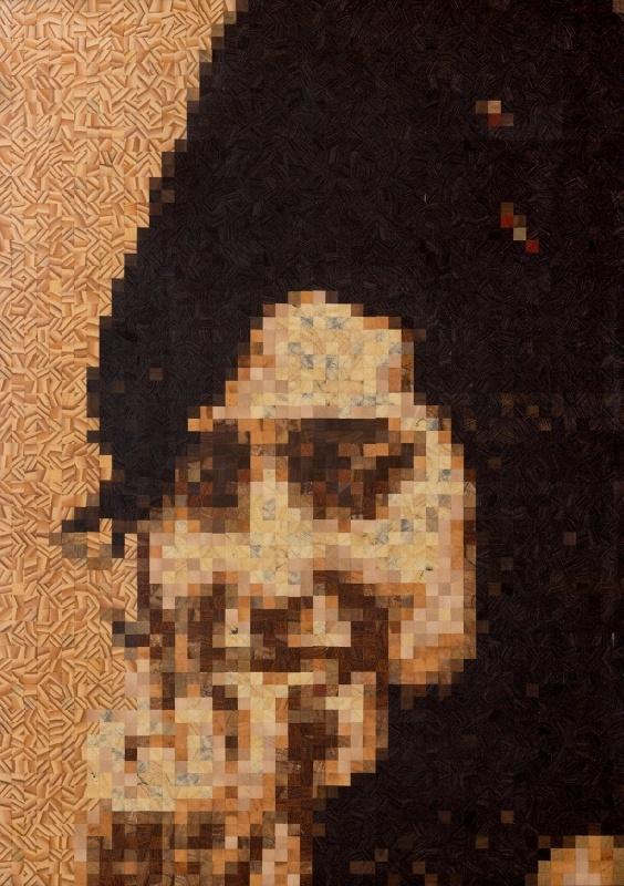 21 besten musivi holz pixel mosaik design bilder auf pinterest mosaik holz und motive. Black Bedroom Furniture Sets. Home Design Ideas