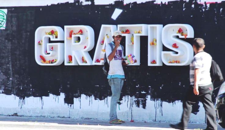 Sztuka w prezencie dla mieszkańców | Inspirowani Naturą | street art Narcélio Grud