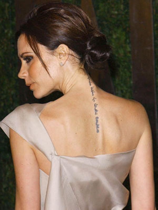 Best Female Celebrity Tattoos