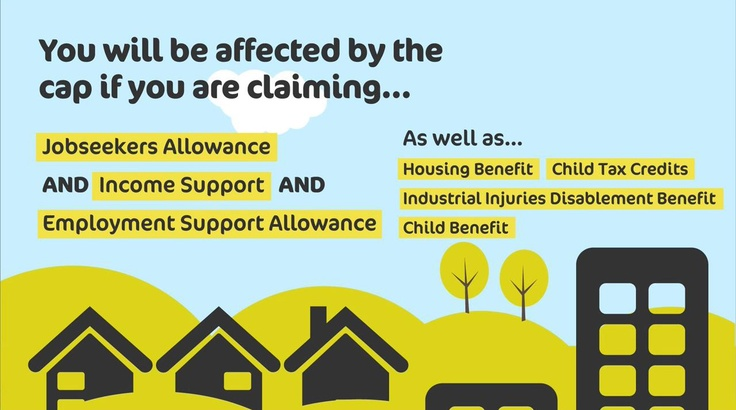 You could be affected by the benefit cap. To find out more about how the benefit changes may affect you, visit http://www.k-h-t.org/main.cfm?type=WELFAREREFORM