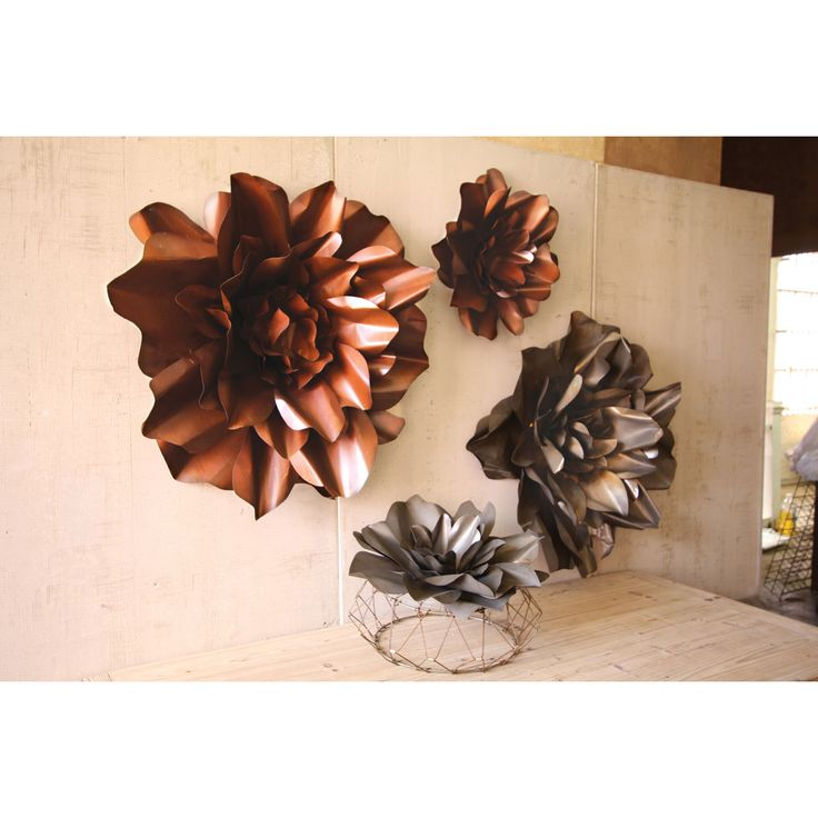 Metal Flowers Wall Decor 92 best wall decor! images on pinterest | wall decor, clock wall