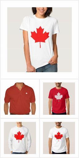 Kanada-Geschenke - patriotisches Kanada-T-Shirts und Outfit Design-Ideen. Rot-Ahorn Kanada-Flagge Thema Kleidung und andere Geschenke. Kanada Tag Kleidung Mode für diejenigen, die Liebe Kanada.