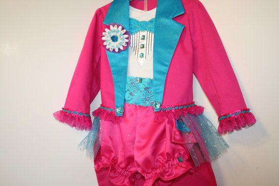 Girl Circus Ringmaster Costume with JACKET