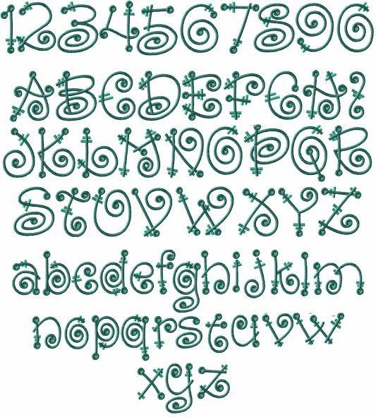 Fairy Tale Alphabet Machine Embroidery Designs 4X4 Hoop