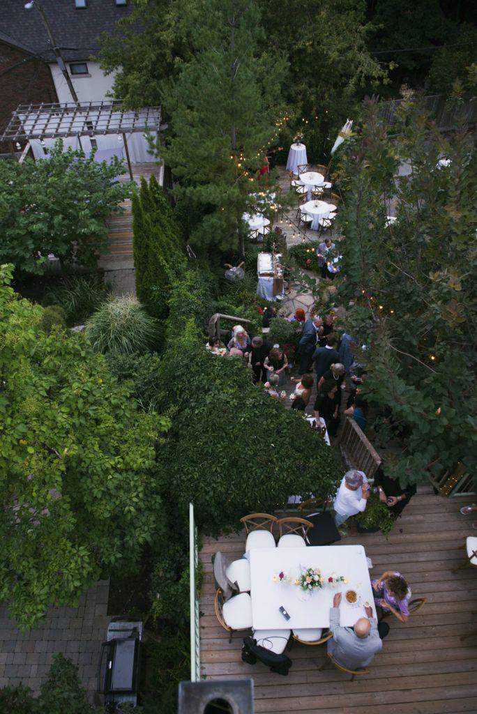A truly romantic garden oasis wedding.