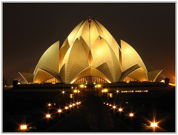 Baha 39 i temple india baha 39 i houses of worship pinterest for The lotus temple