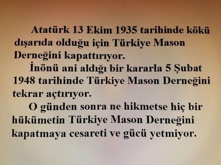 #mason #inönü