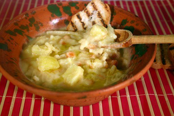 Zuppa di fave e patate, ricetta semplice | Morti di fame