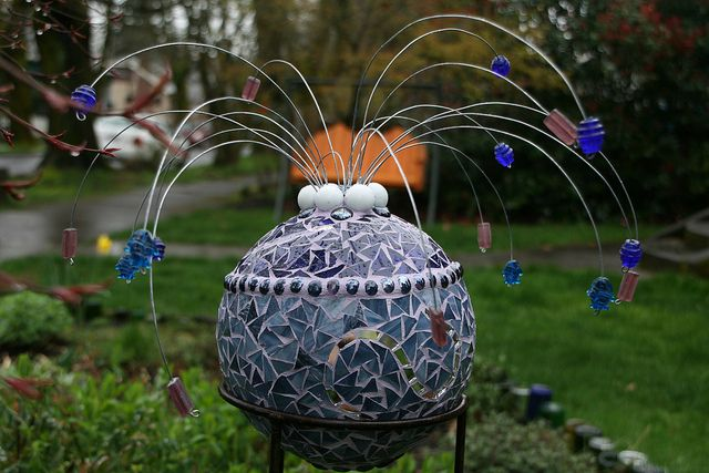need to add some fun mosaic whimsy to the garden this year!