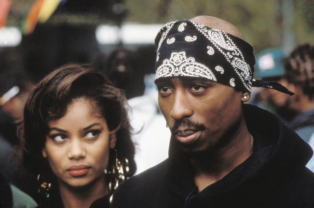 Still of Tupac Shakur in Above the Rim (1994) A Hip Hop Moment With Baka'z Mann  https://www.youtube.com/watch?v=9TlH1XdhE7A