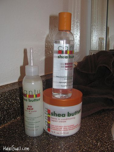 Cantu Shea Butter!!! It is really difficult for me to find stuff for my hair!!! FINALLY!!!