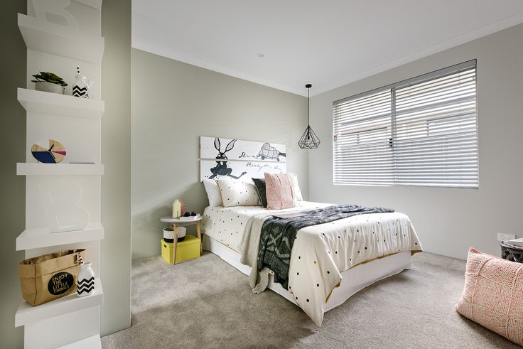 Bedroom - Homebuyers Centre Bohemian Display Home - Banjup, WA Australia