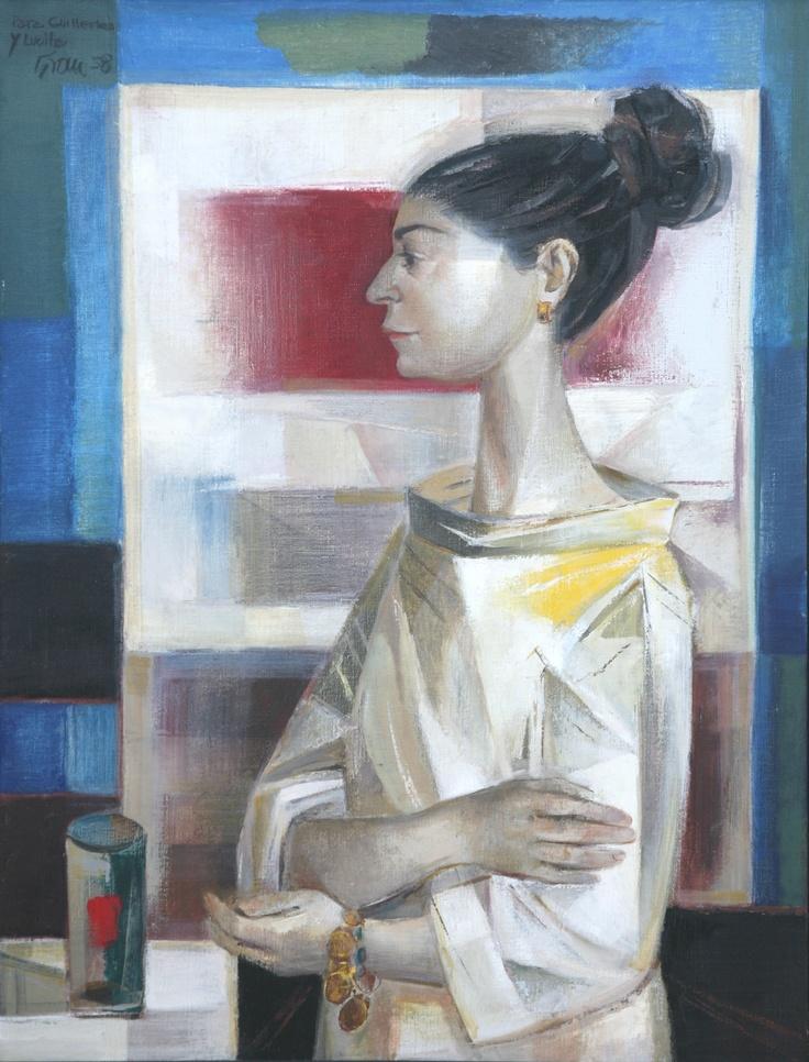 """""""Retrato de Lucille Espinosa"""" (1958) by Enrique Grau (Colombia)."""