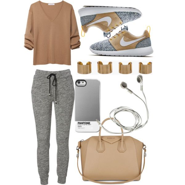 Geen titel #8 by alyciagonsalves on Polyvore featuring J.W. Anderson, NIKE, Givenchy and Maison Margiela