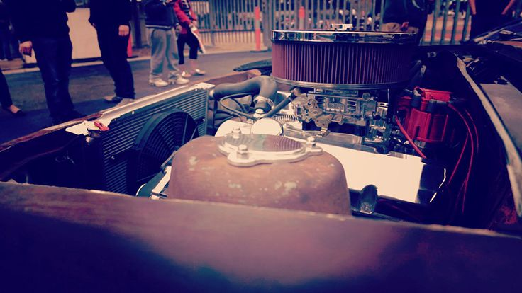 Rusty's engine view!