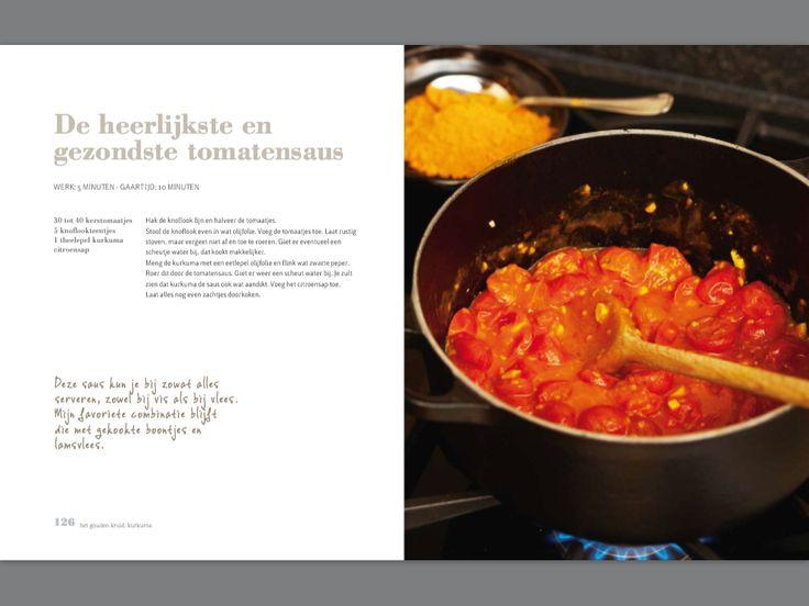 De heerlijkste en gezondste tomatensaus. Recept Pascale Naessens