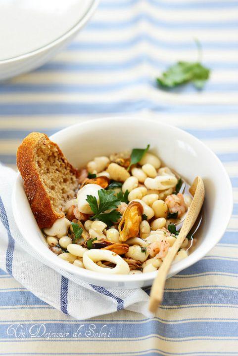 Les 25 meilleures id es de la cat gorie soupe de haricots - Cuisiner des haricots beurre ...