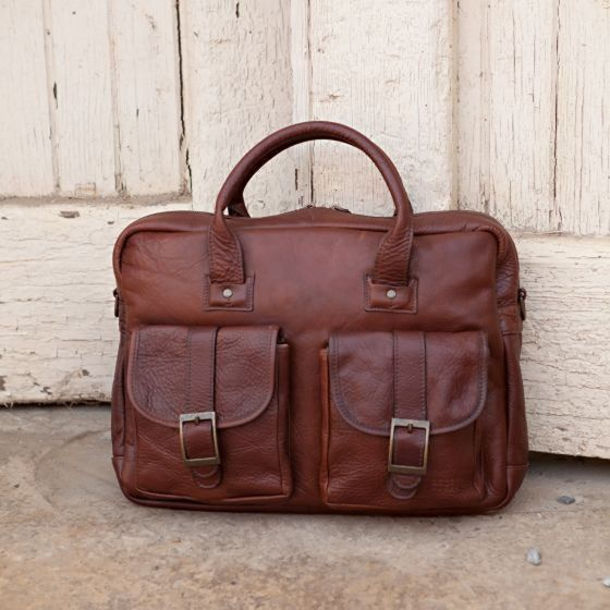 Moore & Giles Dillard Commuter Bag in Mad Dog
