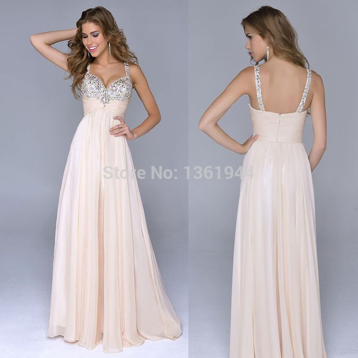 Find More Prom Dresses Information about Promotion Under $100 2014 Junior Girls Prom Dresses Long Bridesmaid Dress High Quality Straps Beaded Sequins Perfect Party Dress,High Quality dresse,China dresses for tall girls Suppliers, Cheap dress long sleeve tunic dress from Augustine's Store on Aliexpress.com