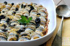 Involtini+di+alici+al+forno+con+patate+e+olive