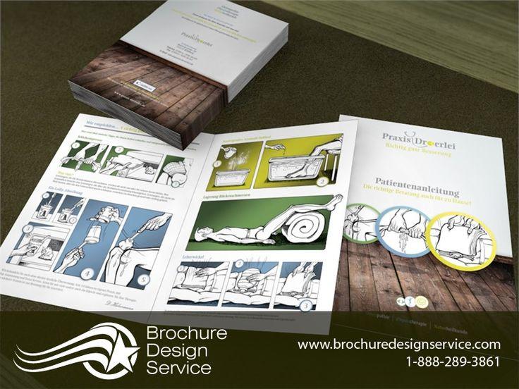 1 fold brochure