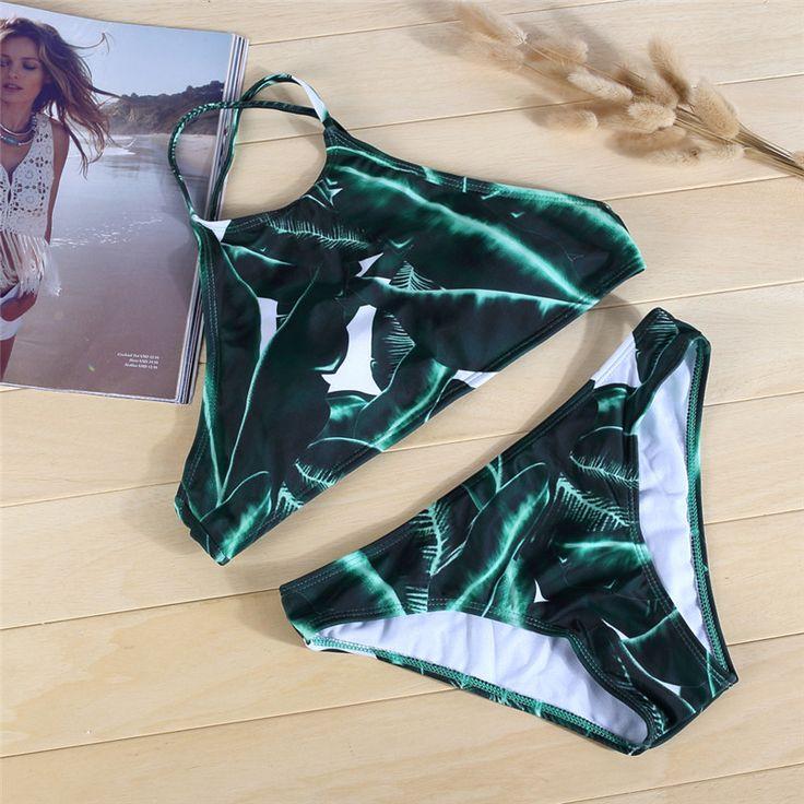 $10.00 (Buy here: https://alitems.com/g/1e8d114494ebda23ff8b16525dc3e8/?i=5&ulp=https%3A%2F%2Fwww.aliexpress.com%2Fitem%2FNew-arrival-2017-Retro-Halter-Swimsuit-High-Neck-designer-Padded-Swimwear-bikini-costumi-da-bagno-donna%2F32751360333.html ) New arrival 2017 Retro Halter Swimsuit High Neck designer Padded Swimwear bikini costumi da bagno donna Top bottom Beach bikini for just $10.00