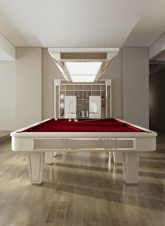 A signature billiard room - Vismara Design