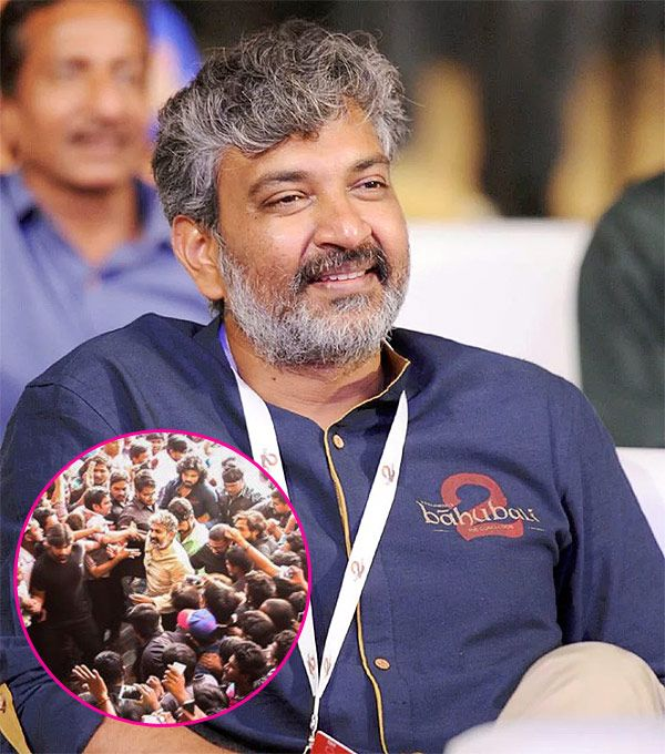 Move over Prabhas, SS Rajamouli's son calls his father real-life Baahubali, posts pic to prove this #FansnStars