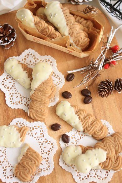 「超簡単!!さくさくコーヒークッキー☆ヴィエノワ」きゃらめるみるく | お菓子・パンのレシピや作り方【corecle*コレクル】
