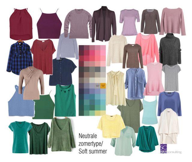 """Neutrale zomer/ soft summer."" by roorda on Polyvore featuring mode, Topshop, Victoria's Secret, Chicnova Fashion, H&M, By Malene Birger, Monki, Boohoo, maurices en Zara"
